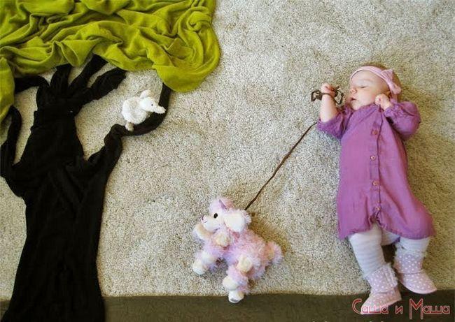 10 Оригинальных идеи детской фотосессии