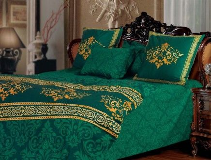 белье зеленого цвета
