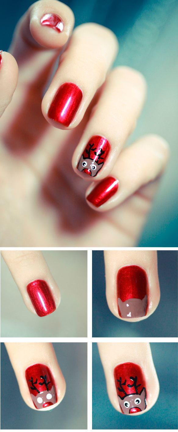 Рисунки на ногтях