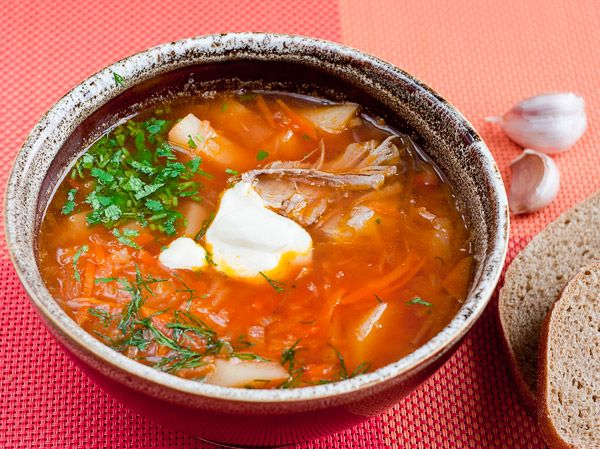Борщ классический: рецепт с пошаговыми фото