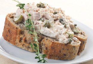 Бутербродная паста (паштет) из тунца. Рецепт