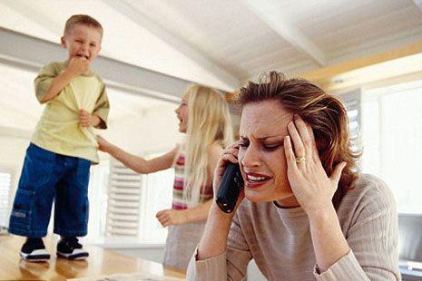 дети доводят маму