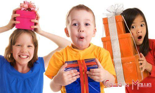 Что подарить ребёнку на 1, 2 и 3 года
