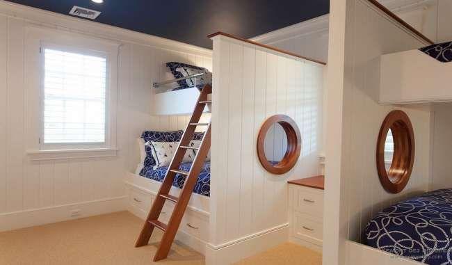 Детская комната в морском стиле - лучшие идеи