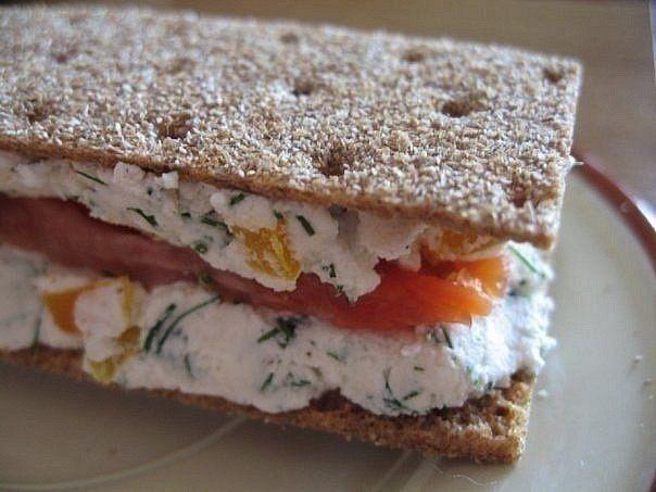 Диетический полезный бутерброд. Рецепт