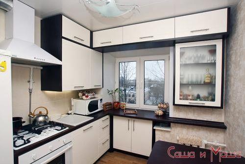 очень маленькая кухня дизайн