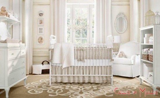 оформление комнаты для новорожденного малыша