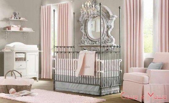 Дизайн комнаты для новорожденного ребенка