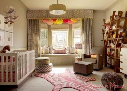 Дизайн оформление комнаты для новорожденного малыша