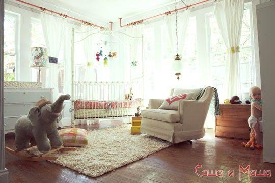 Дизайн комнаты для новорожденного фото 2