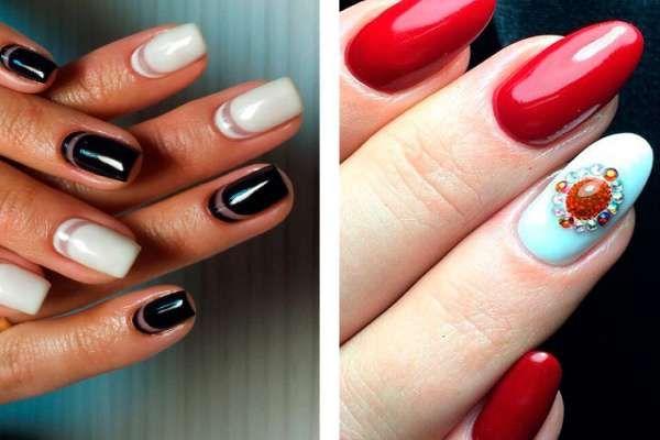 Дизайн ногтей шеллаком 2016 фото(31)