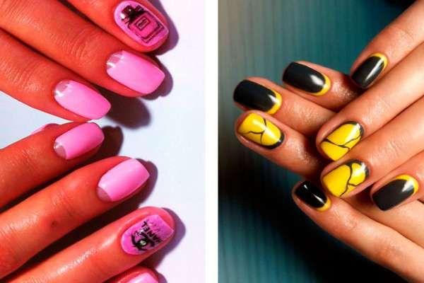 Дизайн ногтей шеллаком 2016 фото(33)