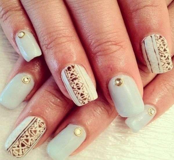 Дизайн ногтей шеллаком 2016 фото(46)