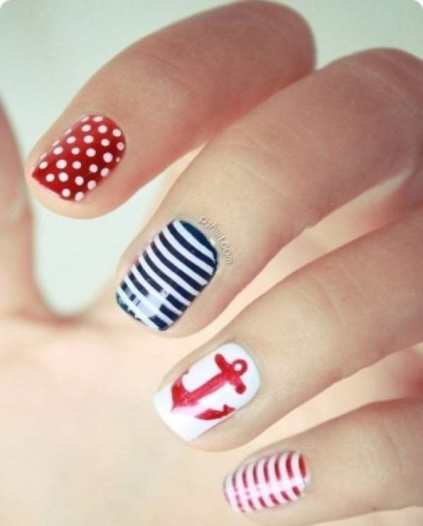 Дизайн ногтей шеллаком 2016 фото(51)