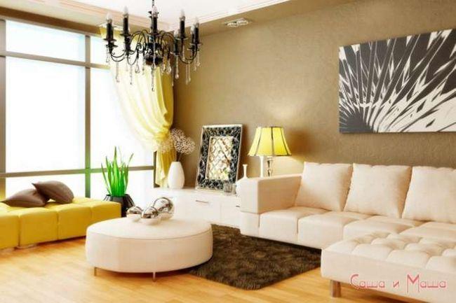 диван в маленькую гостинную