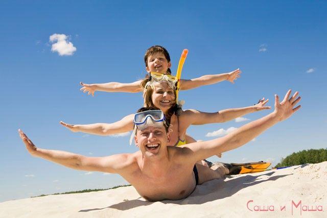лучший отдых с детьми на Чёрном море