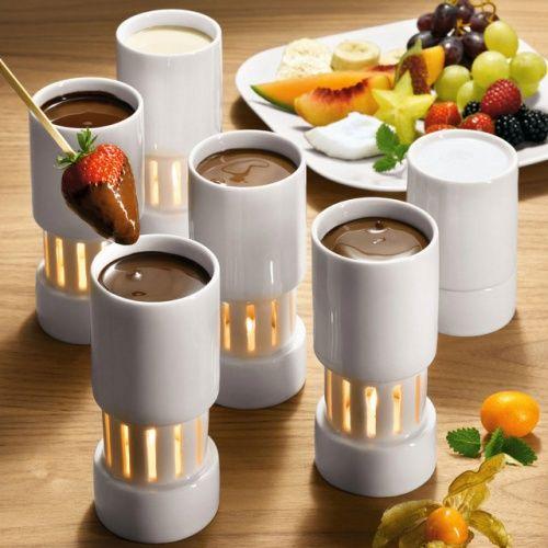 Готовим шоколадное фондю дома