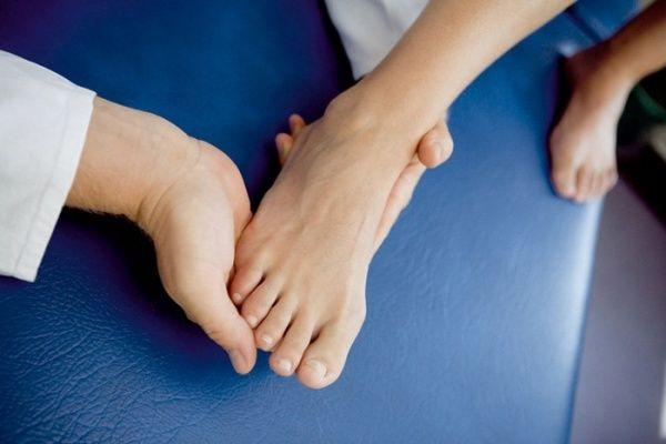 наука чтения по ногам