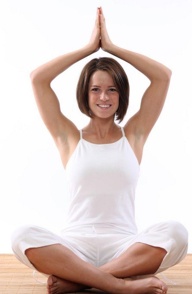 девушка йогиня
