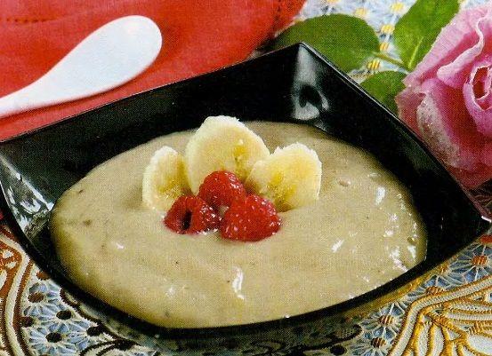 Холодный банановый суп.