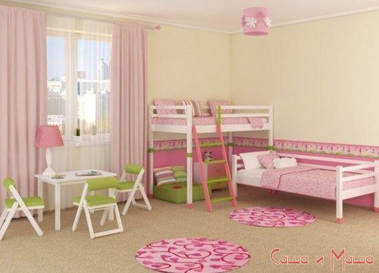 все лучшие идеи дизайна детской комнаты для двух девочек