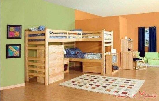 идеи детской комнаты для девочек
