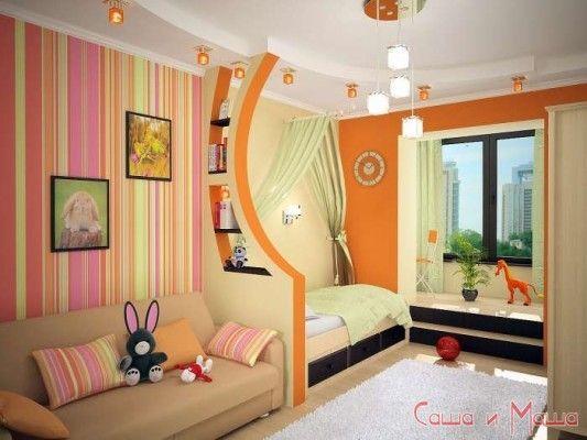 фото детской комнаты для двух девочек