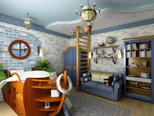 комната пиратов