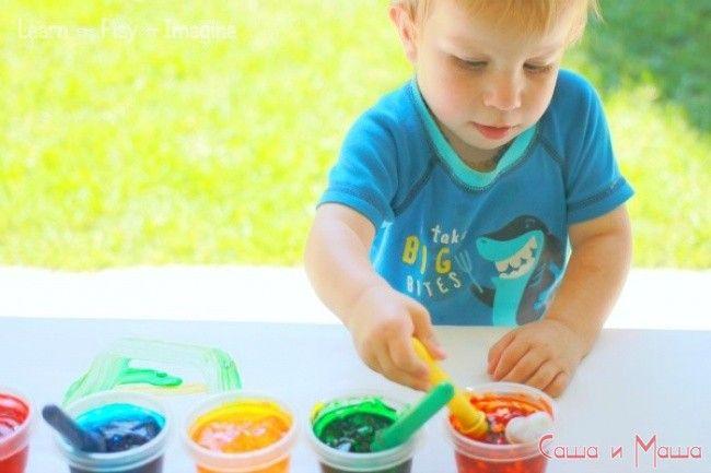 игра для ребенка рисование
