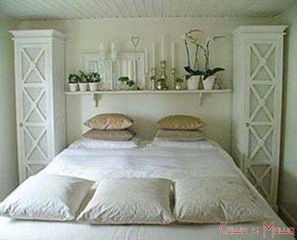 спальня в маленькой комнате от дизайнера