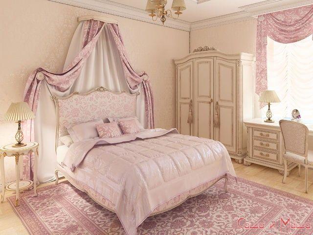 спальня в маленькой комнате