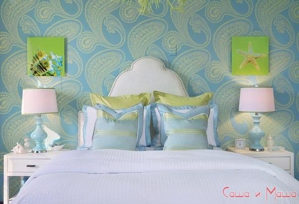 Интерьер маленькой спальни пример