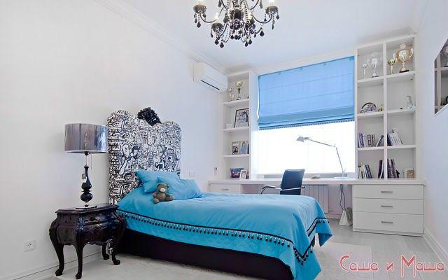 спальня в маленькой комнате 3