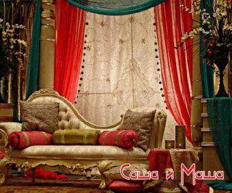 красивый восточный интерьер фото зала