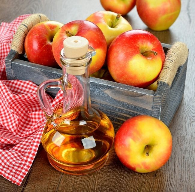 Яблочный уксус для лица
