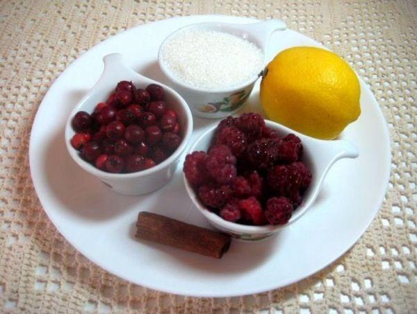 Ягодное, малиновое варенье с боярышником для иммунитета . Пошаговый рецепт с фото