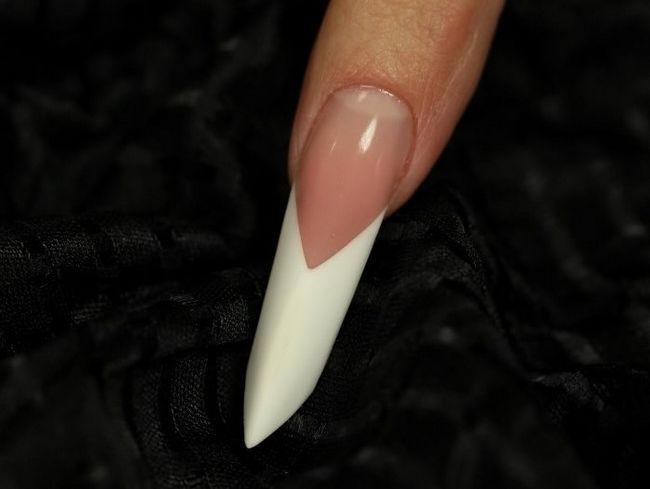 Эйдж ногти. Форма ногтей эйдж