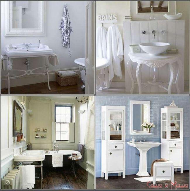 Ванная комната в стиле прованс фото советы