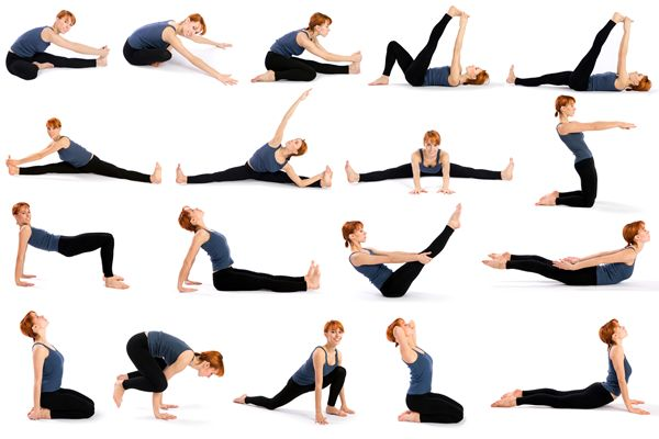 Асана йоги для женщин