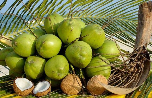 Как есть кокос