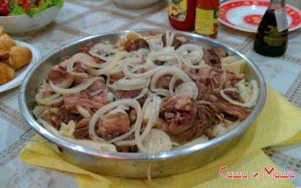 Как готовить бешбармак дома