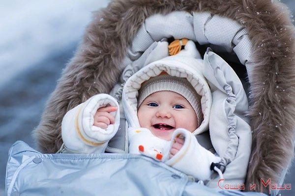 Как гулять зимой с новорожденным