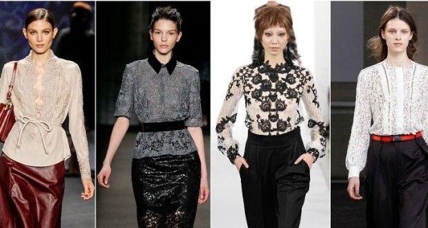 Как и с чем носить блузы