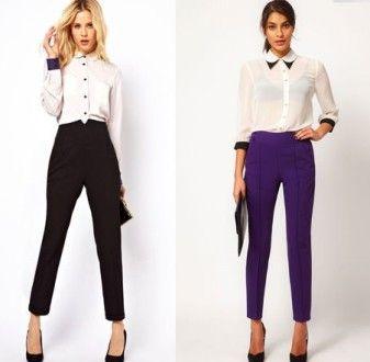 Белая блузка для делового стиля