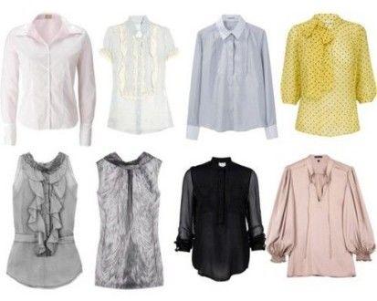 Какие бывают блузки