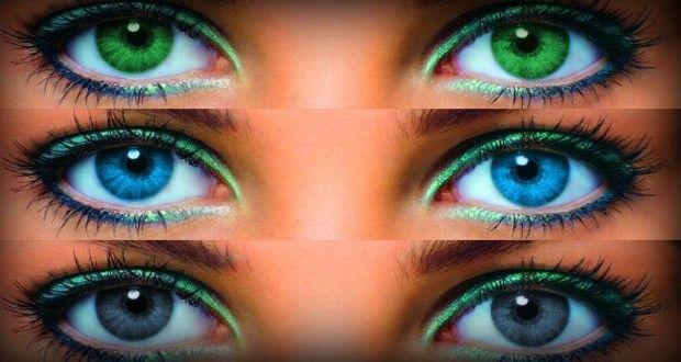 Как изменить свой цвет глаз в домашних условиях