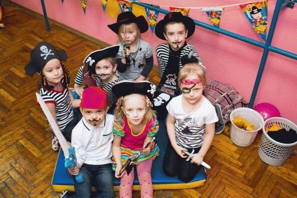 Как одеть ребенка на пиратскую вечеринку