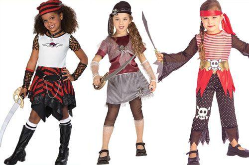 детская пиратская вечеринка костюм для девочек