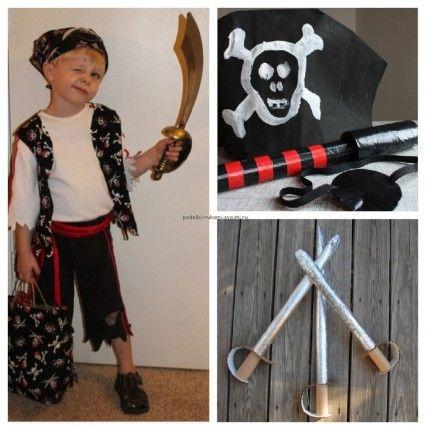 детская пиратская вечеринка костюм пирата