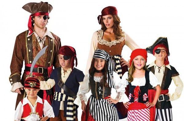 во что одеть ребенка на пиратскую вечеринку